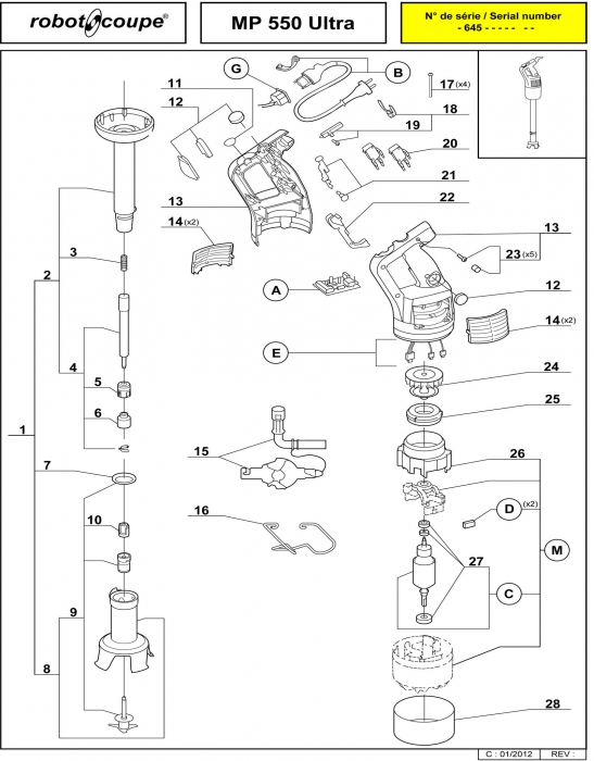 RC_MP_550_C_ULTRA_PARTS.700 robot coupe mp 550 ultra c stick blenders spare parts robot Wiring Diagram for Robot Coupe R2 Dice at mifinder.co