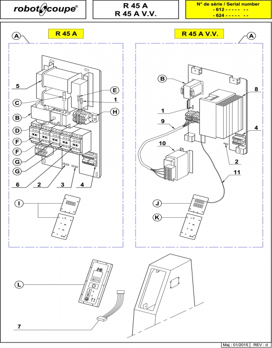 RC_R45_A_R45_A_VV_PARTS_P2_copy.700 robot coupe r45 a r45 v v a floor standing vertical cutter Wiring Diagram for Robot Coupe R2 Dice at mifinder.co