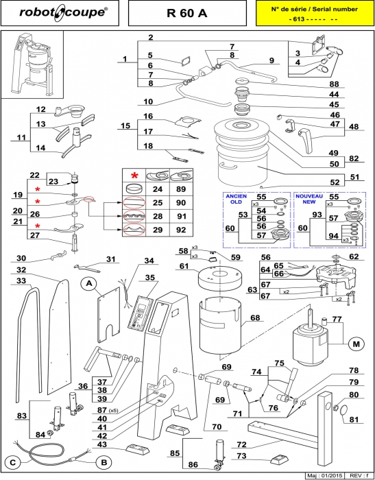 R60 A Spares - Page 1