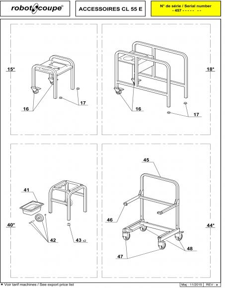 CL55 E Accessories Spares P2