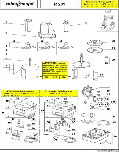 R201 Spares
