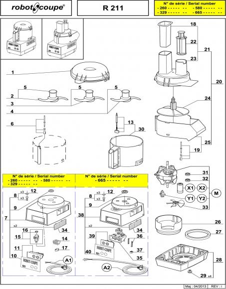 R211 Spares