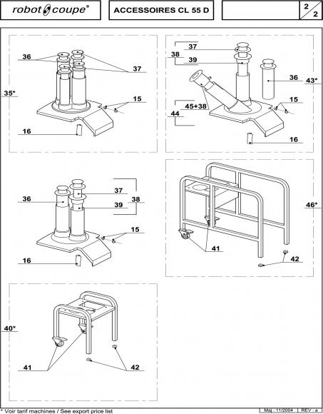 CL55 D Accessories Spares P2