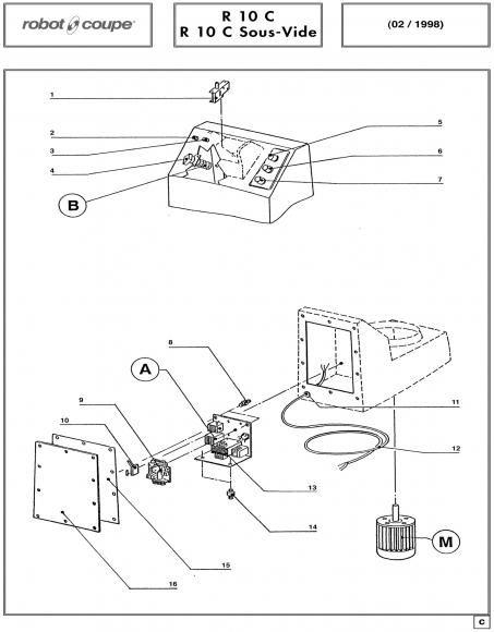 R10 C Sous-Vide Spares P2
