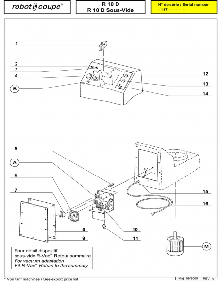 R10 D Sous-Vide Spares P2