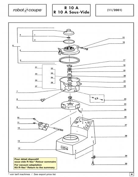 R10 A Sous-Vide Spares P1
