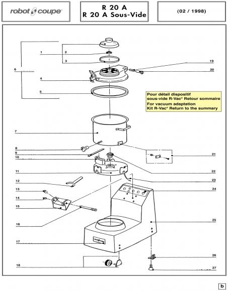 R20 A Sous-Vide Spares - Page 1
