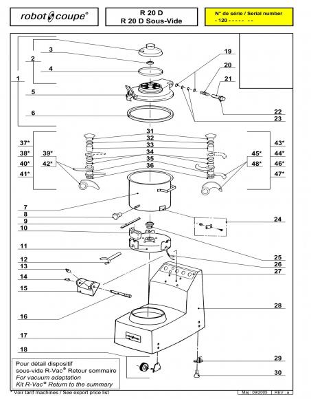 R20 D Sous-Vide Spares - Page 1