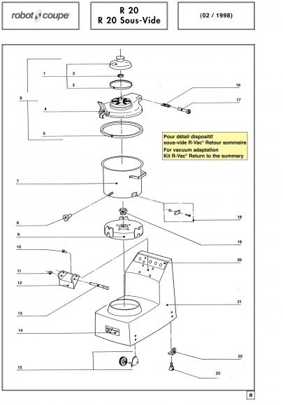 R20 Sous-Vide Spares - Page 1