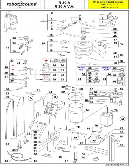 R30 A / R30 A V.V. Spares - Page 1