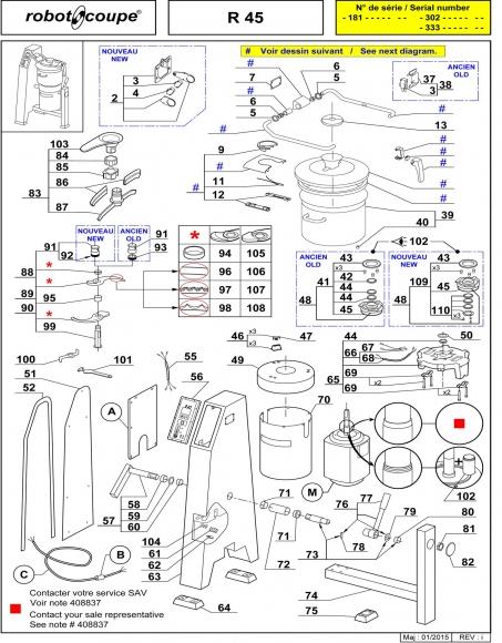 R45 Spares - Page 1