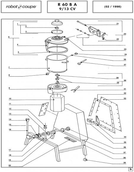 R60B A 9/13 CV Spares - Page 1