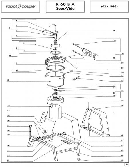 R60B A Sous-Vide Spares - Page 1